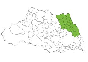 埼玉県北東エリア 主要エリアマップ